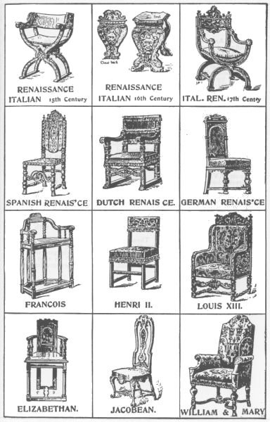 The 40 styles of chairs chester dwars for Different styles of chairs