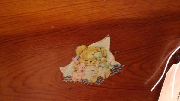 Childs Dresser Decal