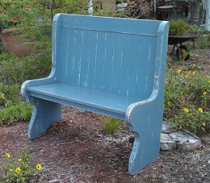 Settle Bench Vintage- Antique