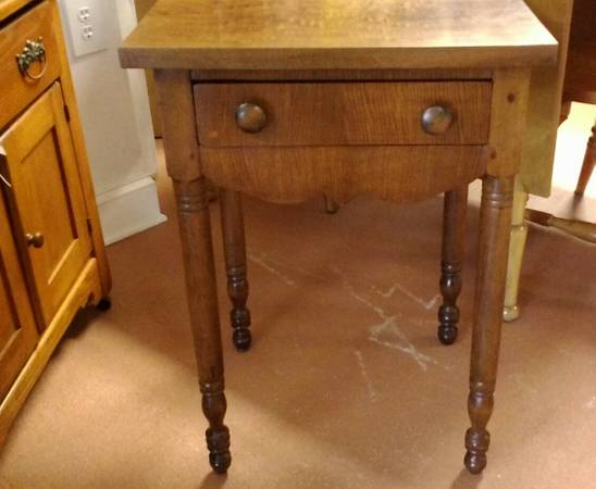 Civil War Side Table